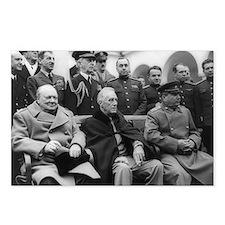 Crimean Conference, Churchill, Roosevelt, Stalin