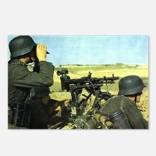German MG Unit Watches for the Enemy