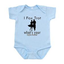 I Fox Trot Infant Bodysuit