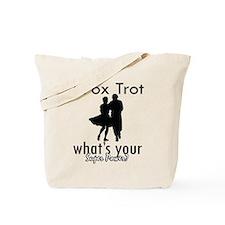 I Fox Trot Tote Bag