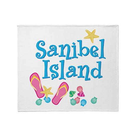 Sanibel Island - Throw Blanket