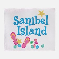 Sanibel Island - Throw Blanket