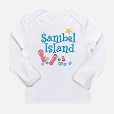 Sanibel Island - Long Sleeve Infant T-Shirt