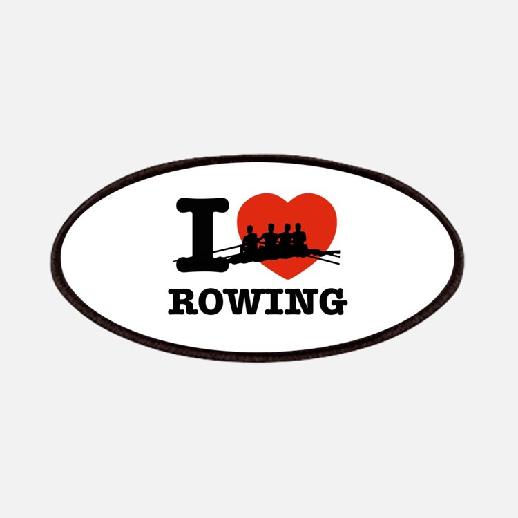 I love Rowing Patches