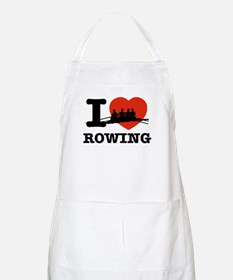 I love Rowing Apron