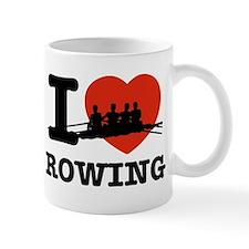 I love Rowing Small Small Mug