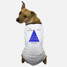 New Hampshire Food Pyramid Dog T-Shirt