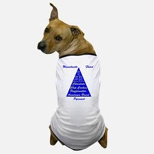 Massachusetts Food Pyramid Dog T-Shirt