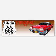 666-AZ-Christine-bump Bumper Bumper Bumper Sticker
