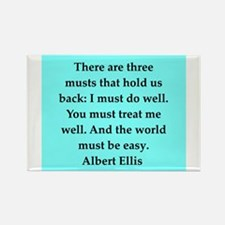 Albert Ellis quote Rectangle Magnet