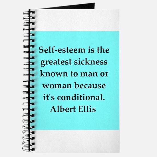 Albert Ellis quote Journal