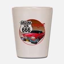 Cute Automobiles Shot Glass