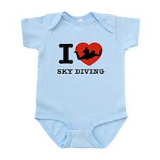 I love Sky diving Infant Bodysuit