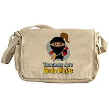 Teachers Are Brain Ninjas Messenger Bag