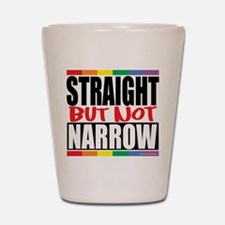 Straight But Not Narrow Shot Glass
