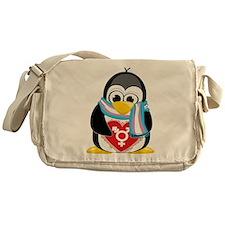 Transgender Penguin Messenger Bag