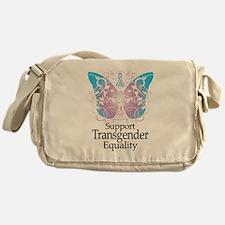 Transgender Butterfly Messenger Bag