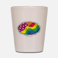LGBTQ Flag Shot Glass