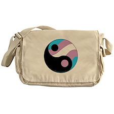 Transgender Ying Yang Messenger Bag