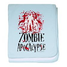 Zombie Apocalypse baby blanket