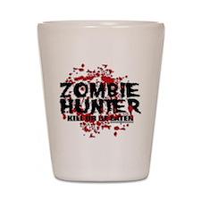 Zombie Hunter Shot Glass