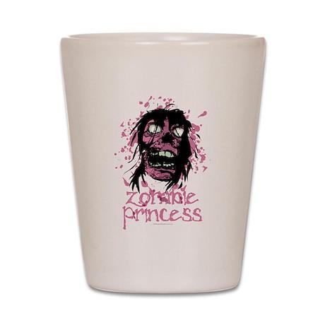 Zombie Princess Shot Glass