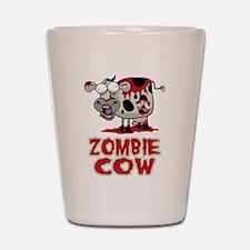 Zombie Cow Shot Glass