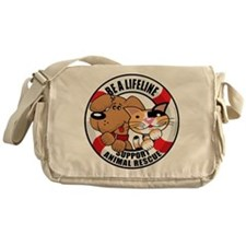 Be A Lifeline Messenger Bag