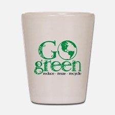 Go Green Shot Glass