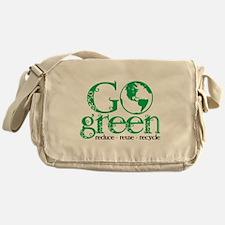 Go Green Messenger Bag