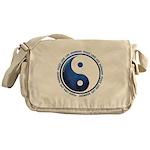 Taoism Ying Yang Messenger Bag