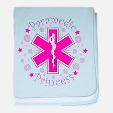 Paramedic Princess baby blanket