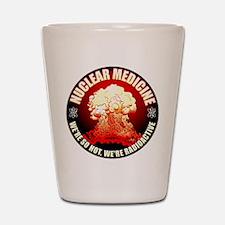 Nuclear Medicine 2 Shot Glass