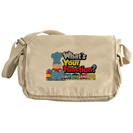 What's Your Function? Messenger Bag