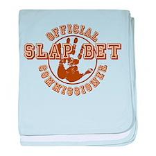 Slap Bet Commissioner baby blanket
