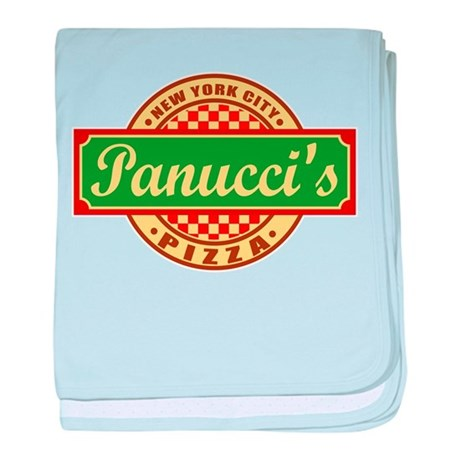 Panuccis Pizza baby blanket