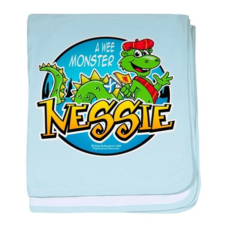 Nessie A Wee Monster baby blanket