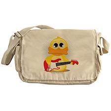 Electric Guitar Duck Messenger Bag