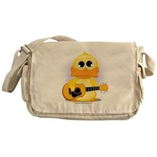 Acoustic Guitar Duck Messenger Bag
