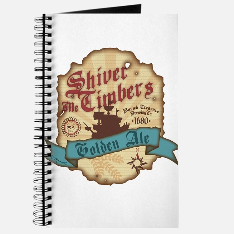 Cute Shiver me timbers Journal