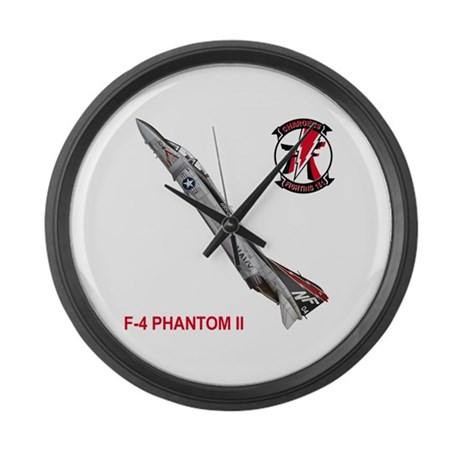 VF-161 Chargers Large Wall Clock