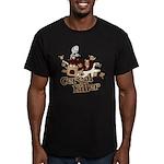 Cereal Killer Men's Fitted T-Shirt (dark)