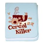 Cereal Killer baby blanket