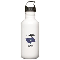 Newton's Gravity Water Bottle