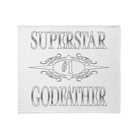 Superstar Godfather Throw Blanket
