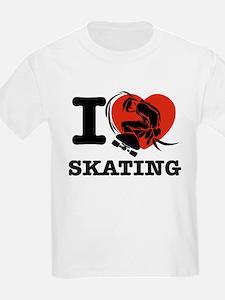 I love Skate boarding T-Shirt
