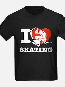 I love Skate boarding T