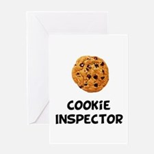 Cookie Inspector Greeting Card