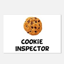 Cookie Inspector Postcards (Package of 8)