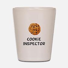Cookie Inspector Shot Glass